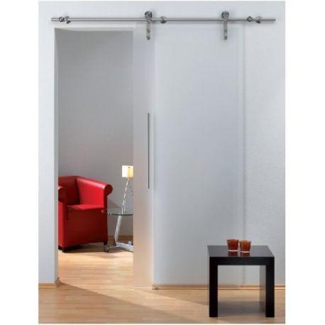 Drzwi szklane przesuwne system RUROWY 2 (na wymiar)