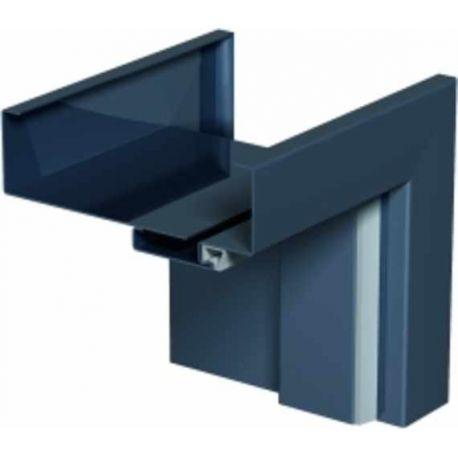 Futryna / ościeżnica Metalowa regulowana do drzwi szklanych