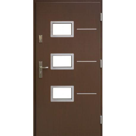 Drzwi A-07 INOX 72mm