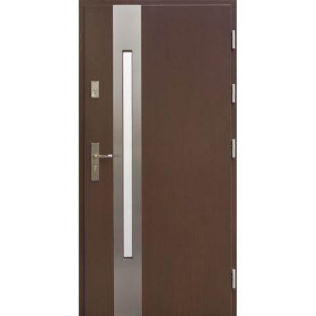 Drzwi AW-8 INOX 76mm