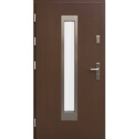 Drzwi AW-9 INOX 76mm