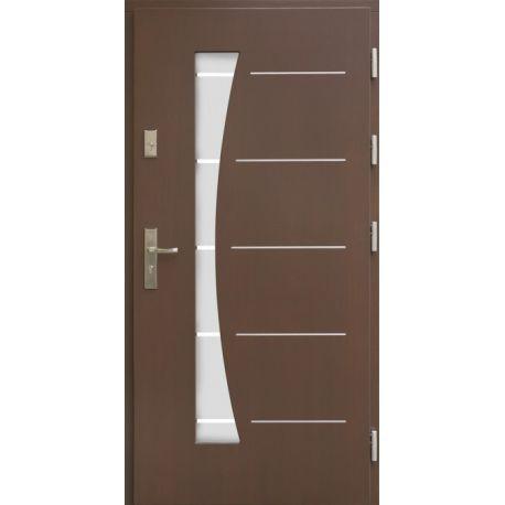 Drzwi AW-10 INOX 76mm