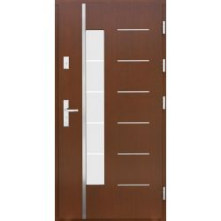 Drzwi AW-11 INOX 76mm