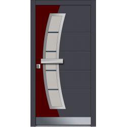 Drzwi P INOX 3 (DĄB)