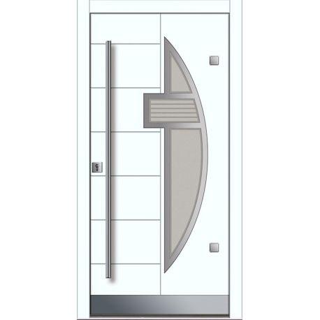 Drzwi P INOX 6 (DĄB)