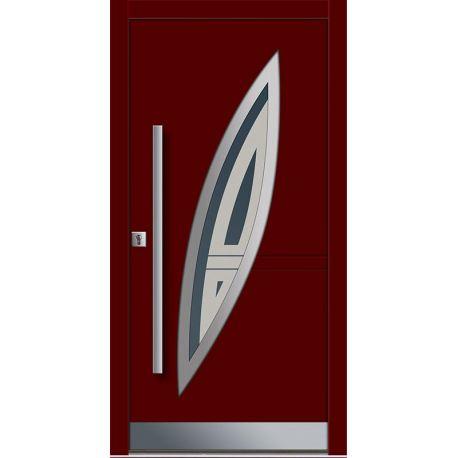 Drzwi P INOX 13 (DĄB)