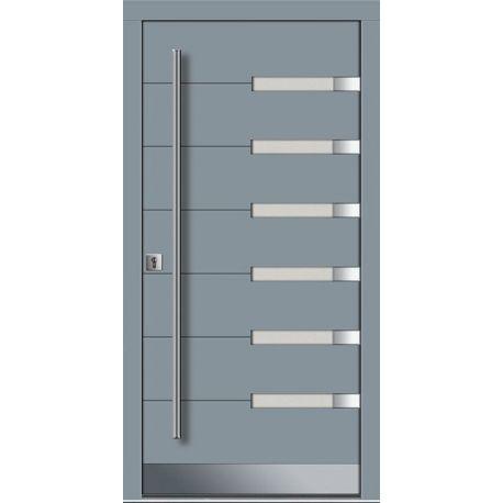 Drzwi P INOX 15 (DĄB)