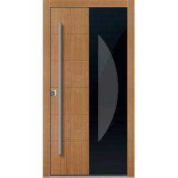Drzwi D GLASS 2 (DĄB)