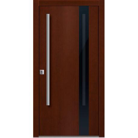 Drzwi D GLASS 4 (DĄB)