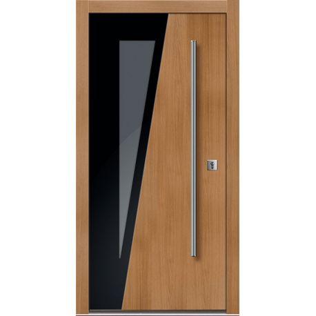 Drzwi D GLASS 6 (DĄB)