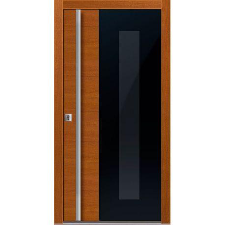 Drzwi D GLASS 8 (DĄB)