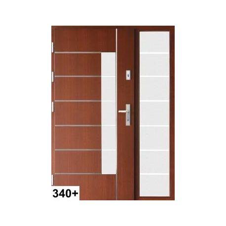 Drzwi J z Doświetlem