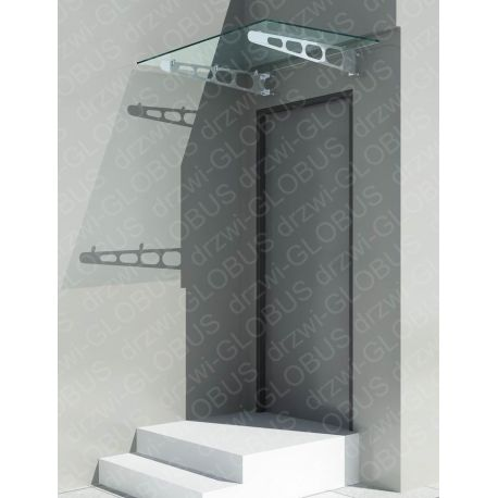 Daszek szklany 2 150x90