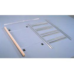 Drzwi szklane przesuwne chowane w ścianę system w KASECIE (w 24h)