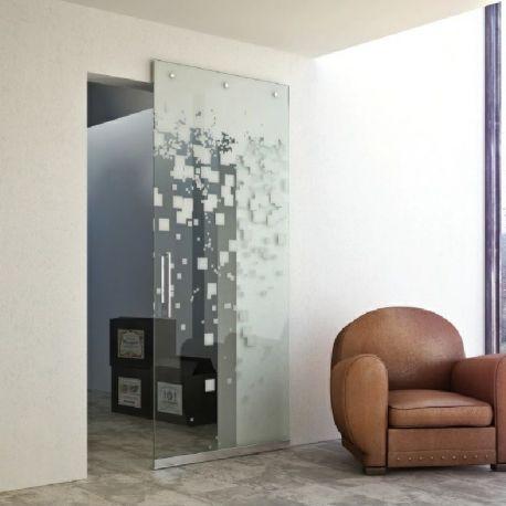 Drzwi szklane przesuwne system PRIMO 2 (na wymiar)