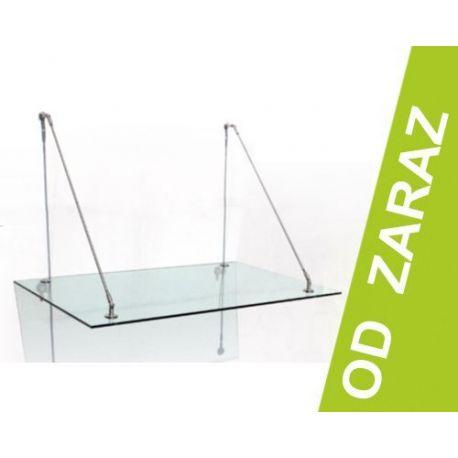 Daszek szklany 1: 150x90