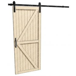 Drzwi LOFT BARN DOORS TYP 1