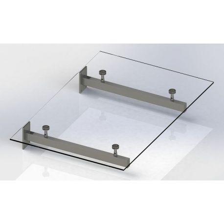 Daszek szklany 2: 150x120