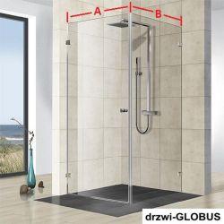 Kabina prysznicowa narożna (na wymiar)