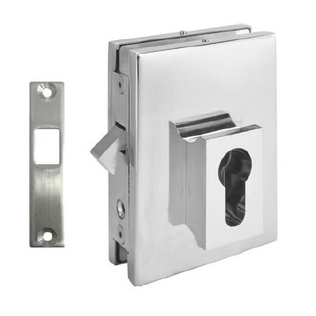 Zamek hakowy 3 - drzwi szklane