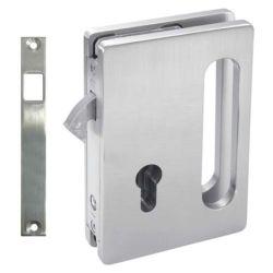 Zamek hakowy 2 - drzwi szklane
