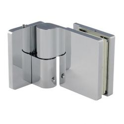 Zawias prysznicowy unoszony Lewy płytka zewnętrzna - 90s