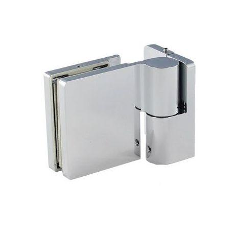 Zawias prysznicowy unoszony Prawy płytka wewnętrzna - 90s