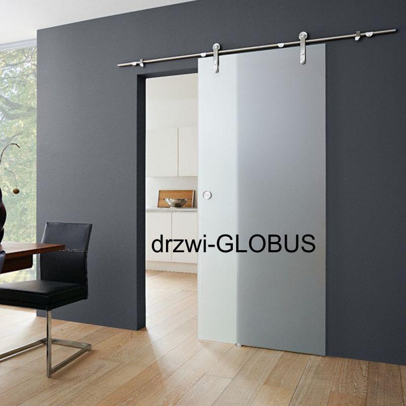 Drzwi szklane przesuwne system RUROWY 1 (na wymiar)