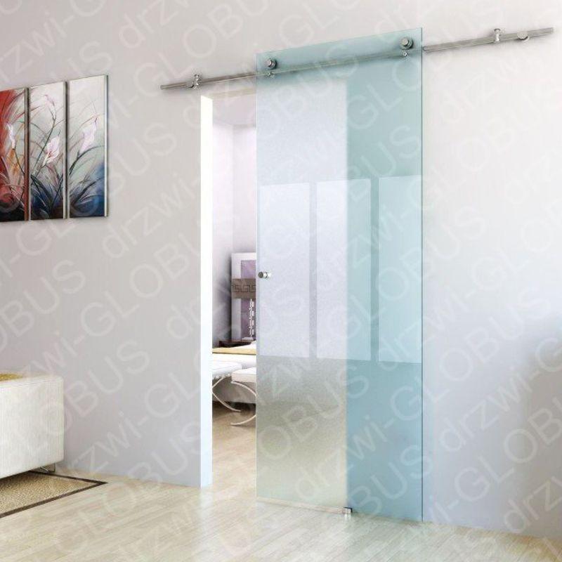 Drzwi szklane przesuwne system PRIMO na wymiar