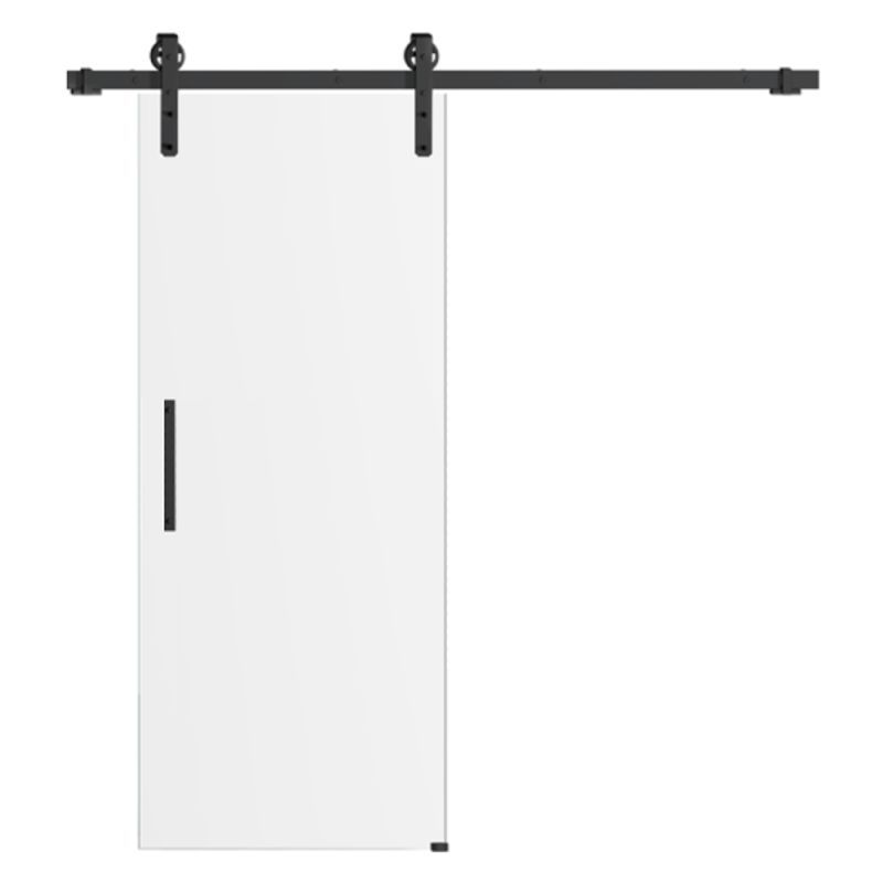 Drzwi szklane przesuwne system RUROWY LOFT (na wymiar)
