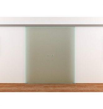 Drzwi szklane przesuwne dwuskrzydłowe PRESTIGE na wymiar