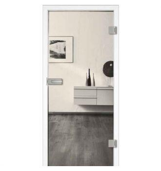 Drzwi szklane otwierane przeźroczyste (na wymiar)