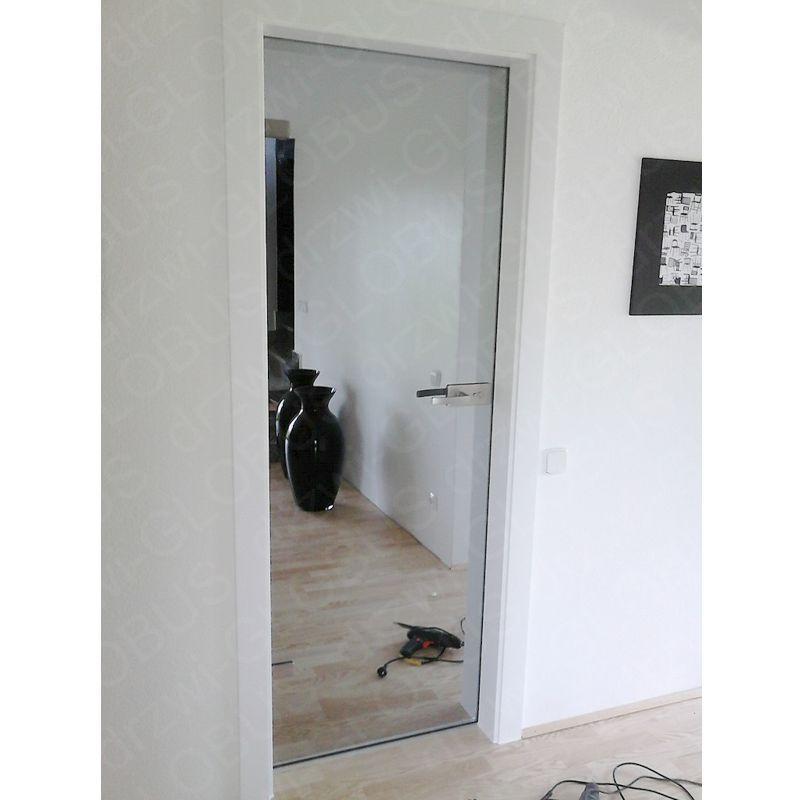 Drzwi szklane otwierane LUSTRO (na wymiar)