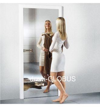 Drzwi szklane otwierane LUSTRO LUSTRZANE (na wymiar)