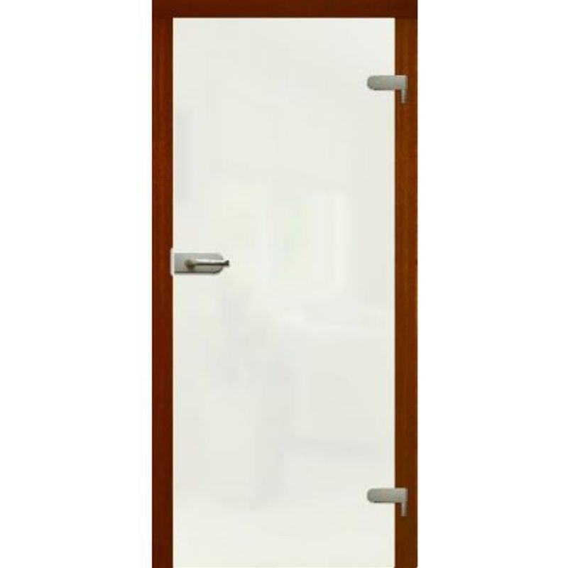 Drzwi szklane otwierane MLECZNE - WC (na wymiar)
