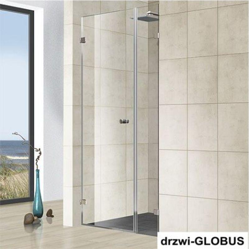 Kabina prysznicowa wnękowa z doświetlem 1 (na wymiar)