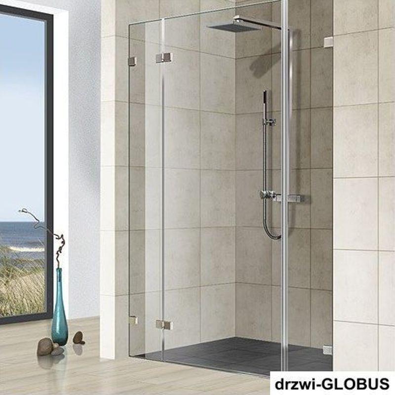 Kabina prysznicowa wnękowa z doświetlem 3 (na wymiar)
