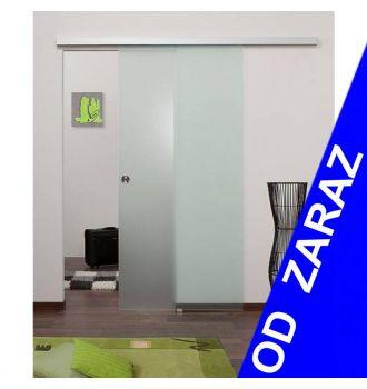 Drzwi szklane przesuwne system PRESTIGE (od ręki w 24h)