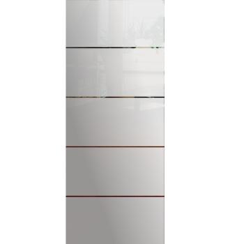 Wzór piaskowany nr 3 na drzwi szklane