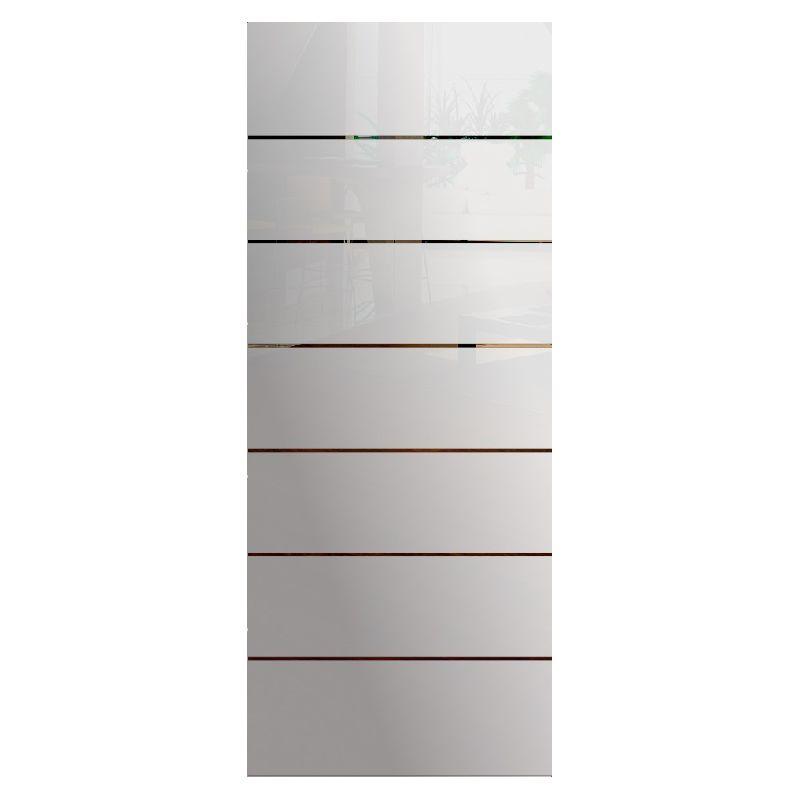 Wzór piaskowany nr 4 na drzwi szklane