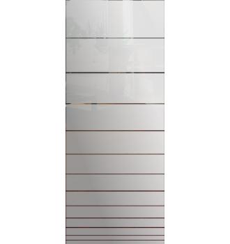 Wzór piaskowany nr 6 na drzwi szklane