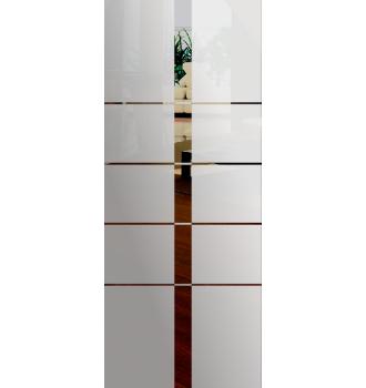 Wzór piaskowany nr 7 na drzwi szklane