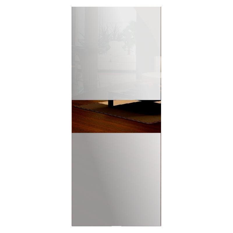 Wzór piaskowany nr 8 na drzwi szklane