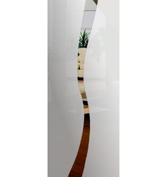 Wzór piaskowany nr 31 na drzwi szklane