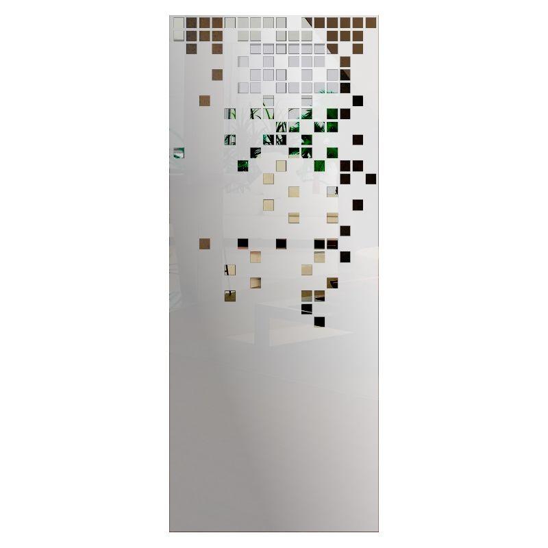 Wzór piaskowany nr 39 na drzwi szklane