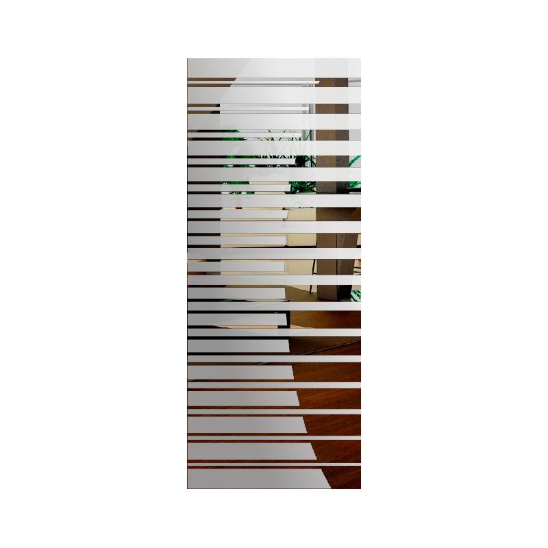 Wzór piaskowany nr 54 na drzwi szklane
