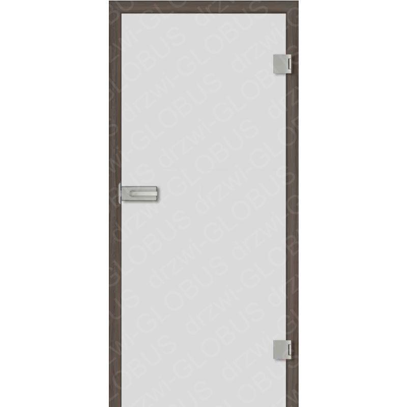 Drzwi szklane otwierane matowe (na wymiar)