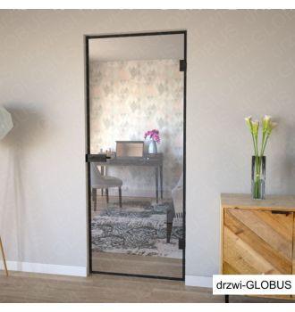 Drzwi otwierane w ramie LOFT - szkło przeźroczyste.jpg