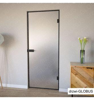 Drzwi szklane otwierane LOFT (na wymiar)