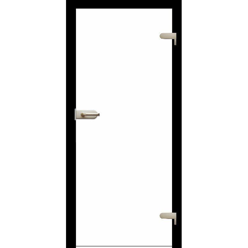 Drzwi szklane otwierane BIAŁE (na wymiar)
